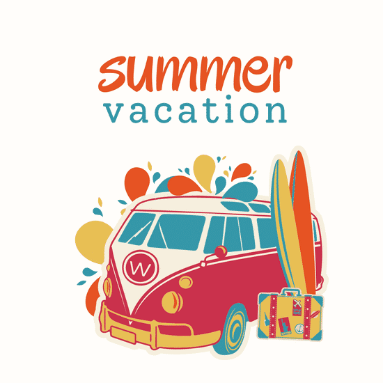 Summer Vacation Template