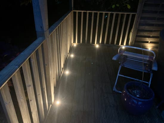 You Can Place A Deck Post Light At Your Balconies
