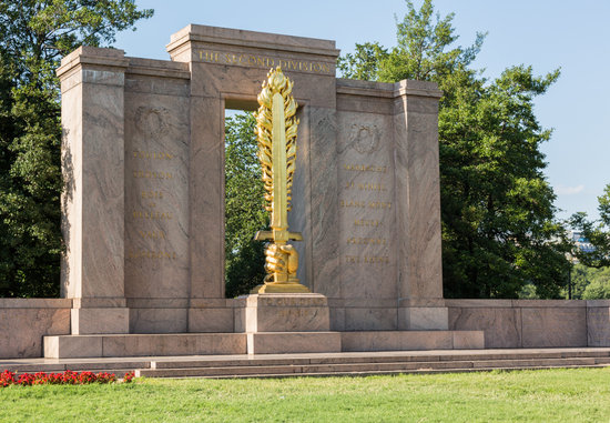 Second Division Memorial Washington DC