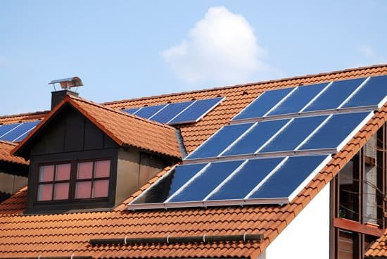 Solar Panels Installed on Rooftop
