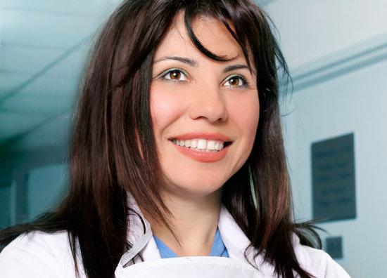 Beautiful Smiling Nurse Doctor