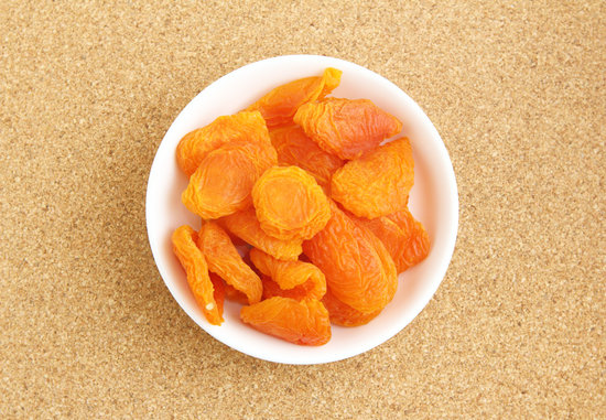 Dried Apricots with Toothpick