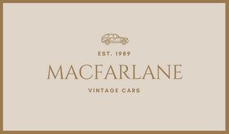 Brown illustrated car vintage business card templates by canva brown illustrated car vintage business card colourmoves