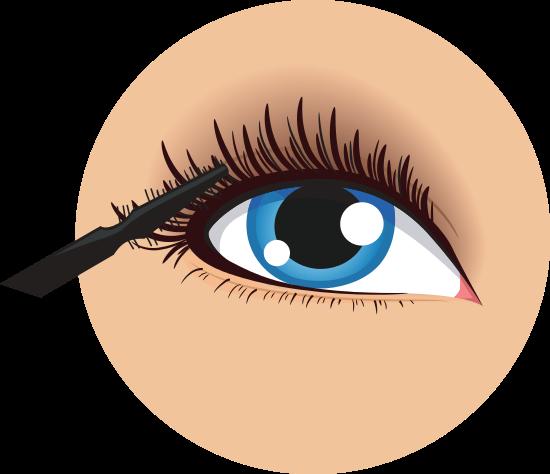 Eye Mascara Beauty Cosmetic Icon