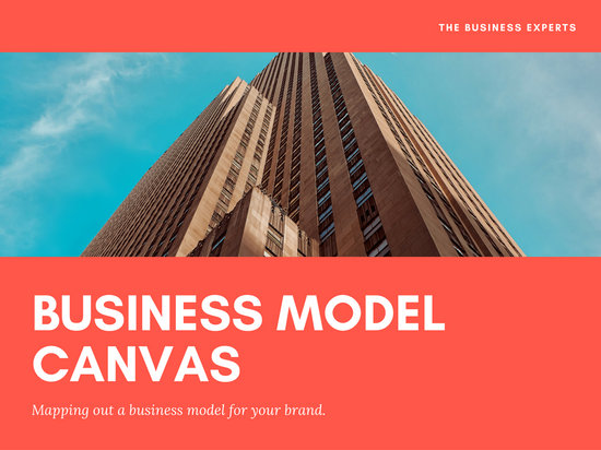 Red Business Canvas Presentation
