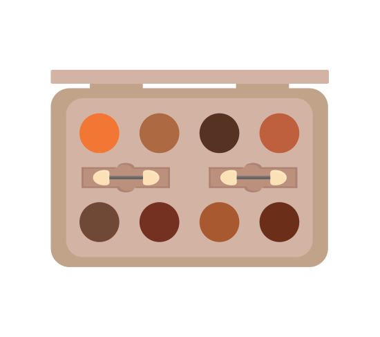 Cosmetic Powder Beauty Makeup Icon