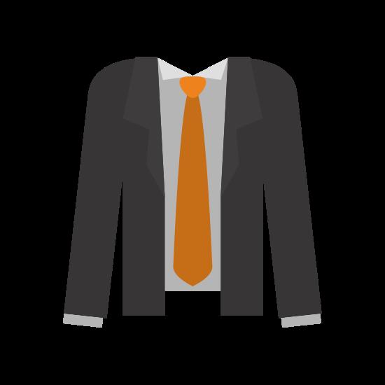 Suit and Necktie Icon