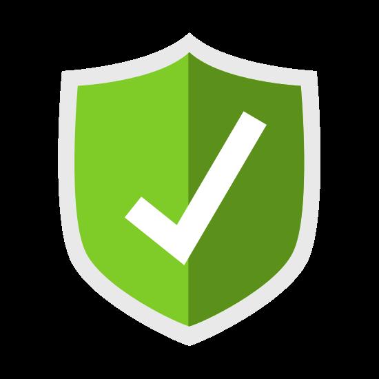 Padlock Icon Security System Design
