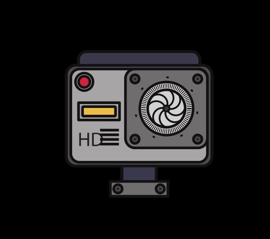 Camera Photography  Isolated Icon Design