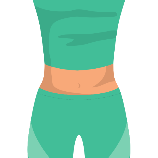 Cloth Icon Healthy Lifestyle Design