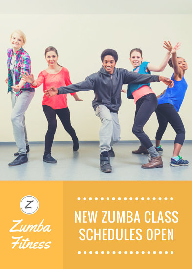 Zumba Dance Fitness Flyer Templates By Canva
