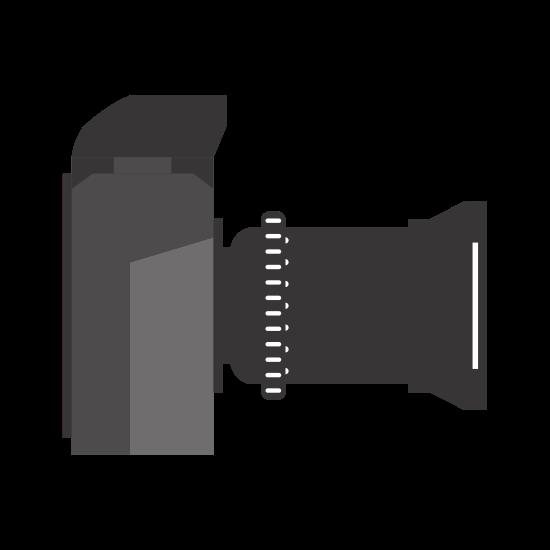 Camera Icon Gadget Design