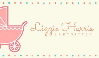 Cute pastel babysitter business card templates by canva cute pastel babysitter business card colourmoves