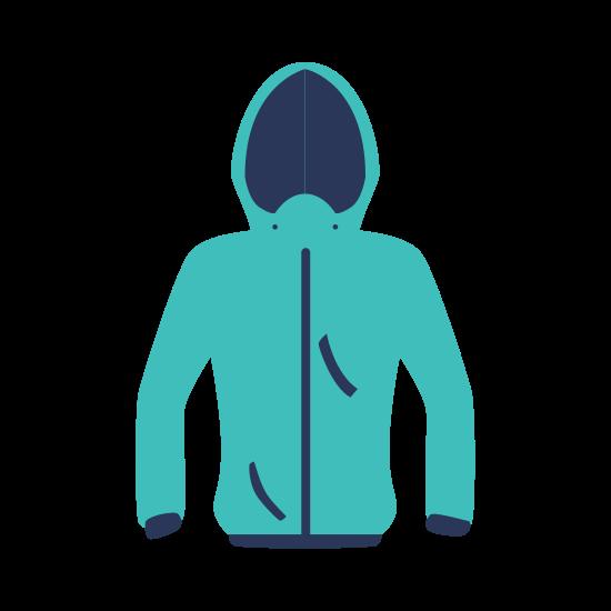 Jacket Cloth Fashion Winter Cold Icon. Vector Graphic