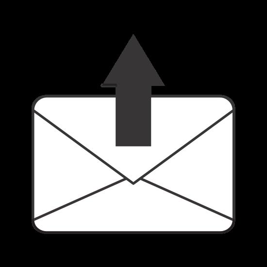 Envelope with Arrow Icon