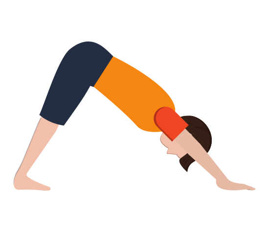 Man in Yoga Pose Icon