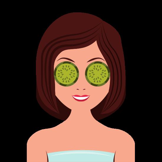 Woman at Spa Beauty Icon