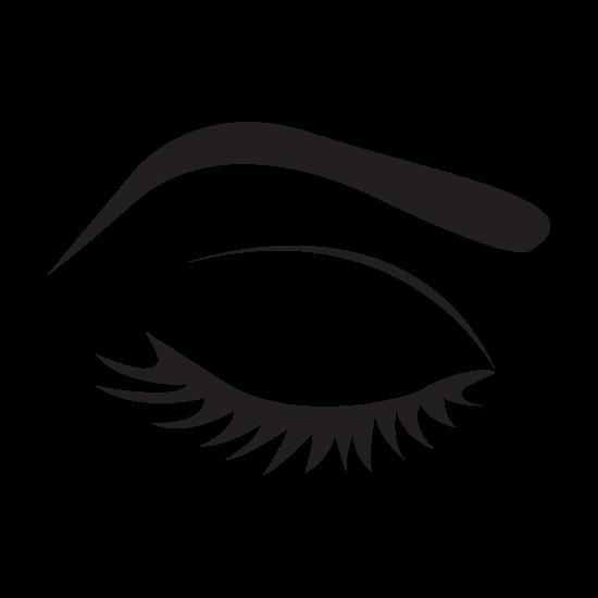 Cartoon Female Eyes Beauty Icon