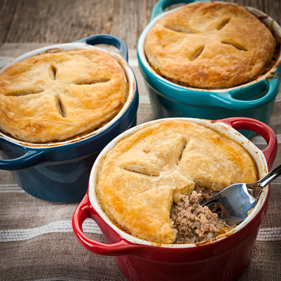 Homemade Meat Potpies