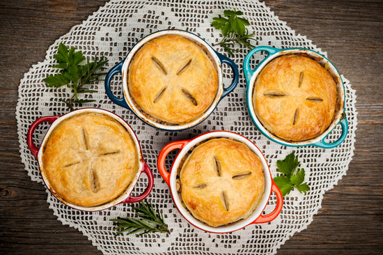 Homemade Meat Pies