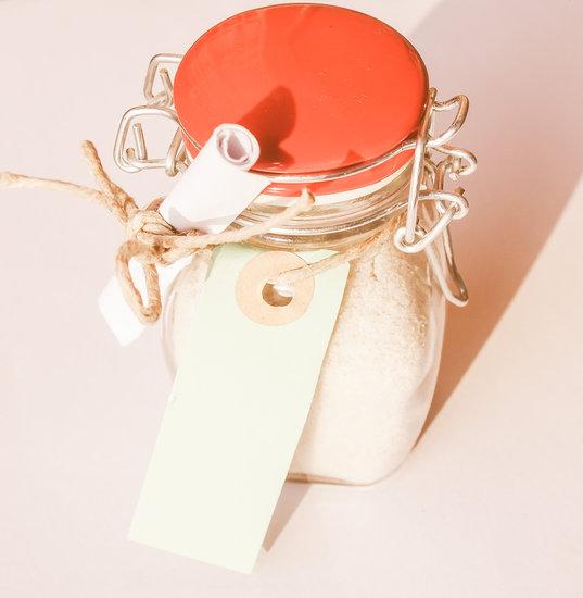 Bath Salts Jar Vintage