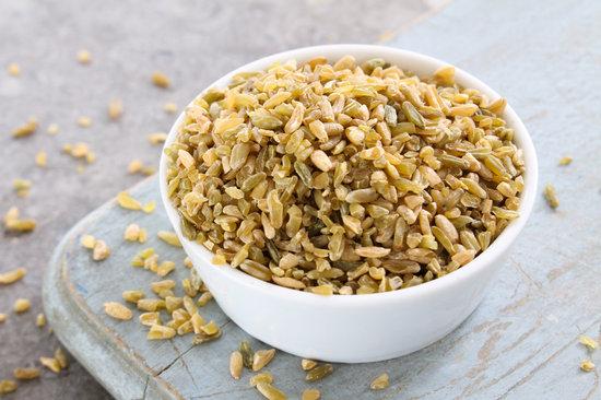 Healthy Cracked Freekeh Grain
