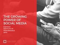 Red and Gray Social Media Presentation