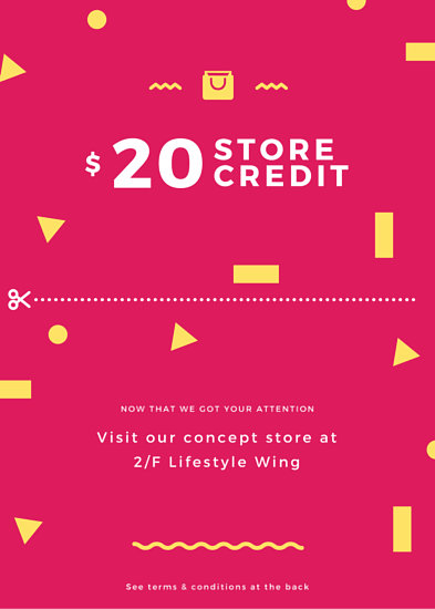 Store Credit Promotional Coupon Flyer  Templates By Canva