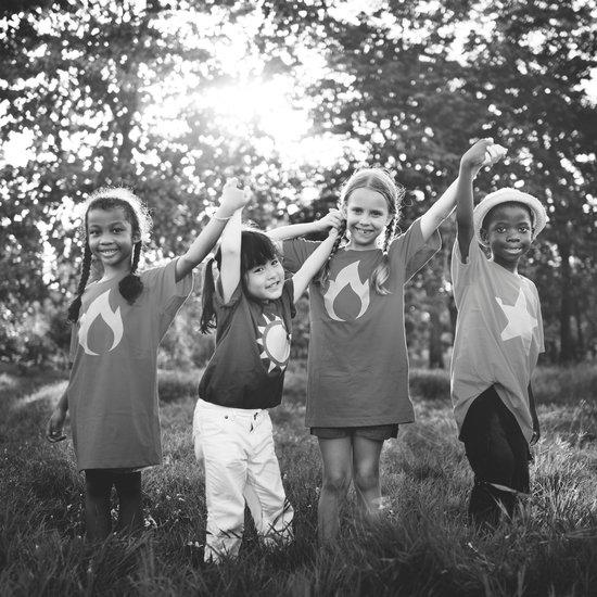 Children Friendship Playful Togetherness Happiness Concept