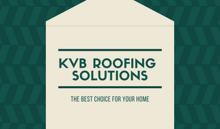 Green House Patterned Roofing Business Card