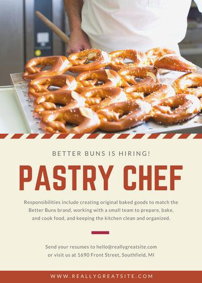 Cream Pastry Job Vacancy Announcement