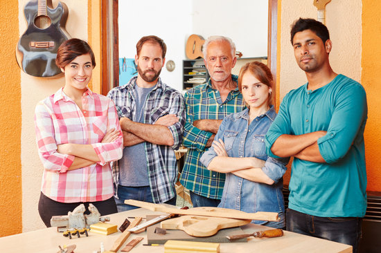 Team of Luthiers Standing