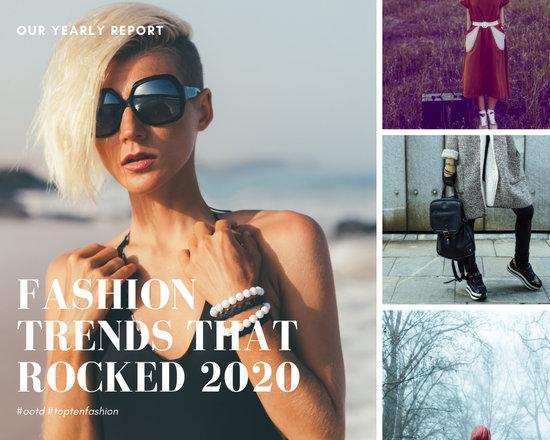 Minimalist Fashion Photo Collage