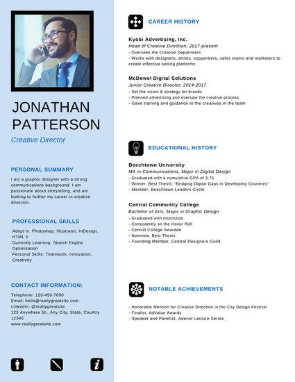 Neat Professional Resume