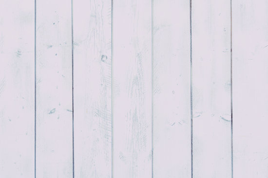 Vertical Planks Painted White