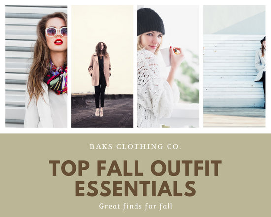 Brown and Green Women Autumn Clothes Fashion Photo Collage
