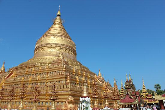 Myanmar, Burma, Shwedagon, Pagoda, Temple, Buddhism