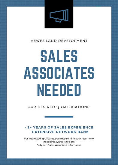 Blue Megaphone Hiring Job Vacancy Announcement