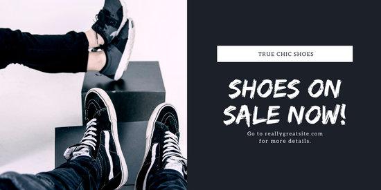 Minimalist Photo Men Fashion Shoes Twitter Post