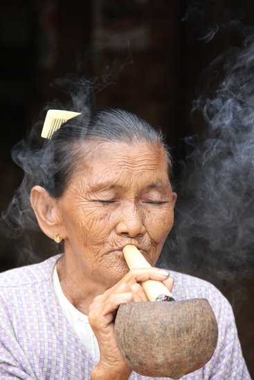 Myanmar, Burma, Smoking, Asia, Travel, Destination
