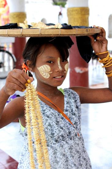 Girl, Burma, Myanmar, Child, Buddhism, Children