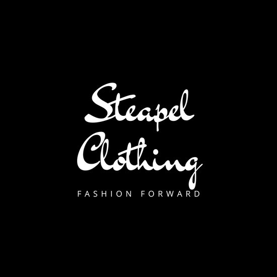 Black and White Script Fashion Logo