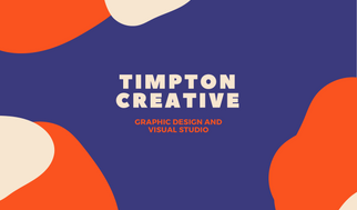 Colorful Shapes Graphic Design Business Card