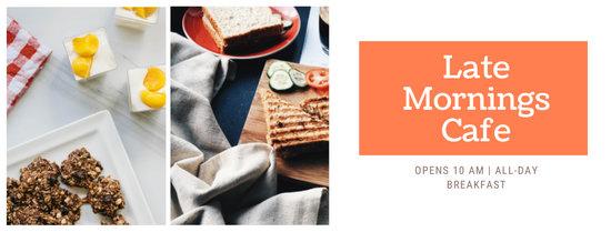 Orange Restaurant Photo Collage Food Facebook Cover