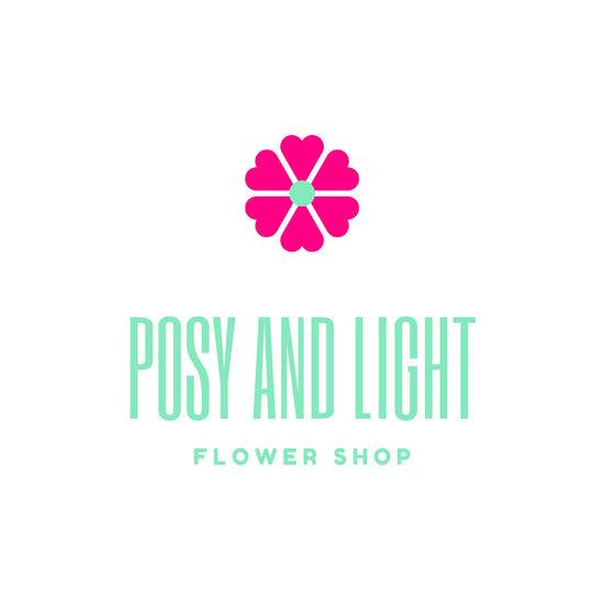 Pink and Green Fleur Fashion Logo