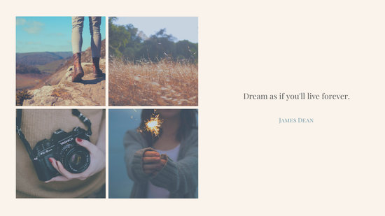 Live Your Dreams Desktop Wallpaper