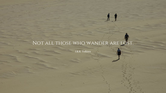 Tolkien Quote Desktop Wallpaper