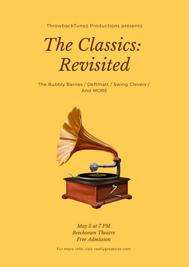 The Classics Music Poster