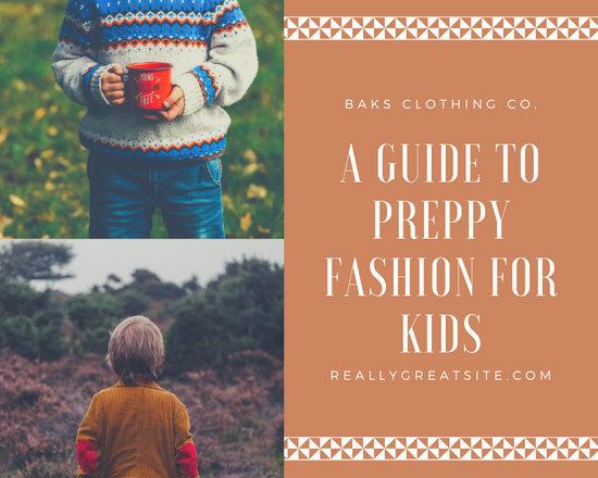 Brown Kids' Fashion Photo Collage