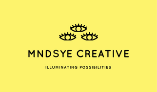 Yellow Eye Icons Graphic Design Business Card